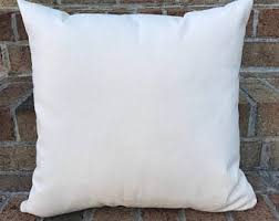 16x16 - Wholesale 10oz WHITE Cotton Canvas Pillow Cover Blanks - Perfect  For Stencils, Painting