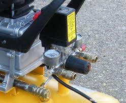 typical diy compressor regulator