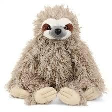 dels about cuddlekins three toed sloth plush soft toy 30cm stuffed by wild republic