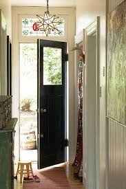 small entryway lighting. the stained glass transom window and pendant light add a whimsical vibe to small entryway lighting l