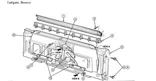 i am trying to replace a rear window motor in a full size bronco Bronco Rear Window Regulator at Wiring Diagram For Rear Window Full Size Bronco