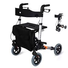 Ultra Light Rollator Amazon Com Lqfld Ultra Lightweight Folding Rollator Walking