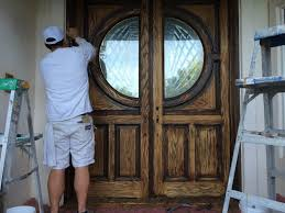 refinishing front doorFront Door Staining and Refinishing in San Diego  Chism Brothers