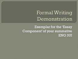exemplar for the essay component of your summative eng ui  1 exemplar for the essay component of your summative eng 3ui