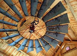 rustic ceiling fans. Image Of: Custom Rustic Ceiling Fans Lowes