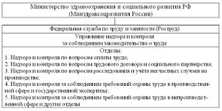 Реферат Государственный надзор и контроль в области охраны труда Реферат Государственный надзор и контроль в области охраны труда