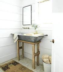 bathroom accessories decorating ideas. Farmhouse Bathroom Decor Ideas Galvanized Metal Tub Sink . Accessories Decorating N