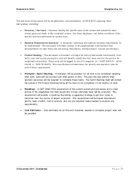 Software Project Statement Of Work Document Sample