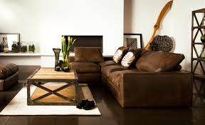 Apartment:Leather Themed Apartment Living Room Apartment Living Room Design  Ideas