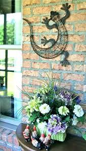 outdoor metal wall art hangings garden ideas decor mermaid wa