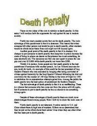argumentative essay pro capital punishment capital punishment essay benefits of the death penalty