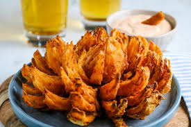 air fryer blooming onion upstate