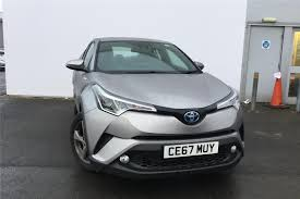 Used 2017 TOYOTA C-HR 1.8 Hybrid Icon 5dr CVT for sale in ...