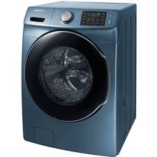 blue washer and dryer.  Blue Ft Front Load Washer WF45M5500AZ  For Blue And Dryer L