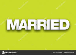 Image result for married word