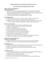 Training Coordinator Resume Cover Letter Free Resume Templates