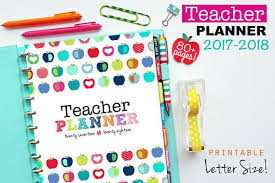 Teacher Weekly Planners 10 Awesome Planners For Teachers Erin Condren Lesson Plans Etc