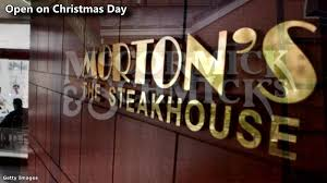Restaurants open Christmas Eve and Christmas Day 2016