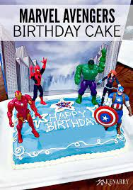 Birthday blue red white 3 green yellow cake hammer america three flash captain superhero arrows shield arrow superheroes hulk thor marvel tier fondant. Avengers Birthday Cake Idea And Party Supplies Kenarry