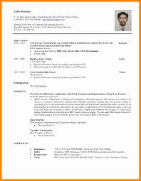 Sample Resume For Lecturer In Computer Science With Experience Science Graduate Resume Sample Resume For A Science Graduate Cv Phd 30