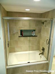 bathroom shower tub tile designs combo bathtub and ideas bath new bathrooms