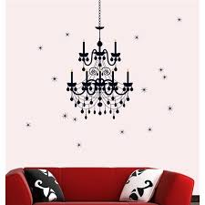home wall sticker wall sticker decal vinyl wall art removable luxury chandelier crystal lights