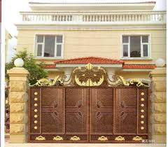 Hot Sale Home Aluminium Gate Design Steel Sliding Gate Aluminum Custom Home Gate Design