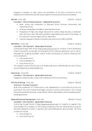 Contract Auditor Sample Resume Ha
