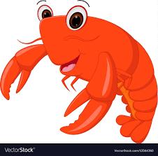 Lobster cartoon Royalty Free Vector ...