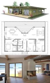 Small Picture Small Modern cabin house plan by FreeGreen Energy Efficient