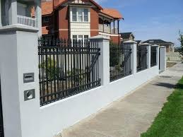 metal fence ideas. Plain Ideas Metal Fence Designs Amazing And Steel Pertaining To  Front Inside Metal Fence Ideas