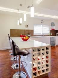 island with wine rack.  Rack How You Can Incorporate Wine Racks Into Your Design Without Wasting Space With Island Rack N