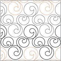Scraps of Life: Pantograph Patterns | Riscos de quilt | Pinterest ... & Bubbles quilting pantograph pattern by Lorien Quilting Adamdwight.com