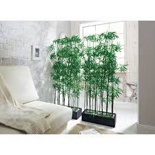 Artificial Bamboo Plant Room Divider, approx. 140 cm high: Amazon.co.