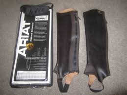 Ariat Close Contact Chaps Size Chart Ariat Close Contact Chaps Gaiters Clearance Chocolate Bargain
