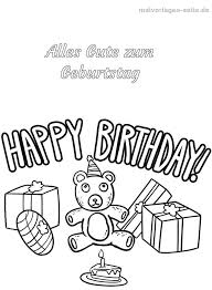 Birthday Malvorlage Malvorlagencr Within Kleurplaat Happy Birthday