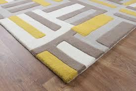 modern yellow rugs within matrix code wool rug max17 martin phillips carpets plan 13