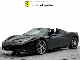 Some might feel the steering is a little too light, however it's precise, making the automobile easy to place on the street. Used Ferrari 458 Italia For Sale With Photos Cargurus