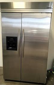 kitchenaid refrigerator superba. kitchenaid superba 48\u0026#34; built in refrigerator freezer stainless steel central ottawa (inside greenbelt), kitchenaid superba t