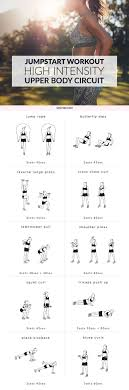 jumpstart your weight loss and sculpt sleek y arms and shoulders with this high intensity upper body workout a mix of cardio and strength
