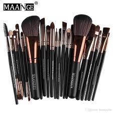 maange brand professional cosmetic makeup brushes set blusher eyeshadow powder foundation eyebrow lip make up brush kit b wedding makeup elf makeup from