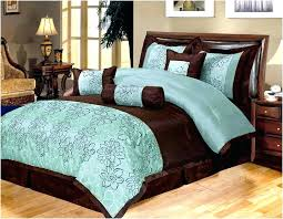 brown turquoise comforter sets and bedding teal set chocolate
