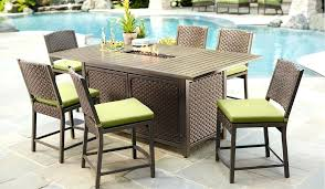 outdoor bar height table and chairs bar height patio tables outdoor bar height bistro table set