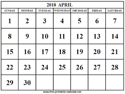 april calendar 2018 april calendar download print calendars from free