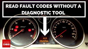 Vectra C Engine Emissions Warning Light How To Read Fault Codes Without A Diagnostic Tool Astra Zafira Corsa Vectra Etc Pedal Test