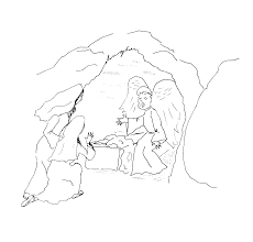 This Coloring Page Is The Resurrection