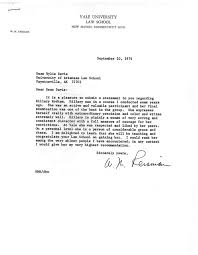 A Letter Of Recommendation From Yale Law Professor W M Reisman