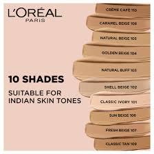 Loreal Paris Infallible Pro Matte Foundation Classic Ivory 101 30g
