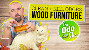 get smoke smell out of wood furniture