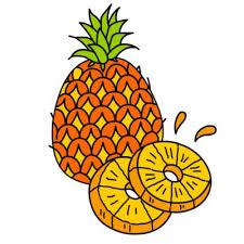 Jak narysować ananasa krok po kroku. Rysowanie ananasa